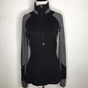 Lululemon Black Long Sleeve Zip Turtleneck Top 6